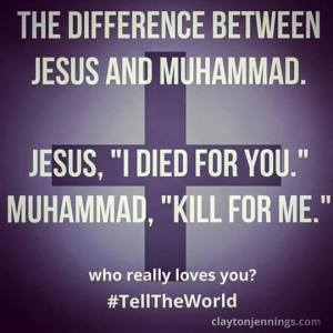 Jesus v Muhammad