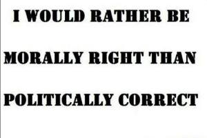 pc vs morals