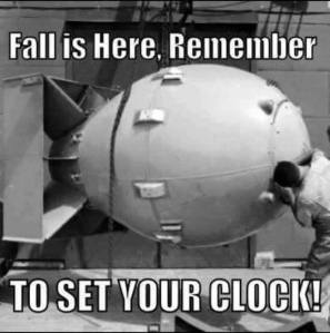 set your clock