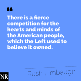 Rush on left wing media