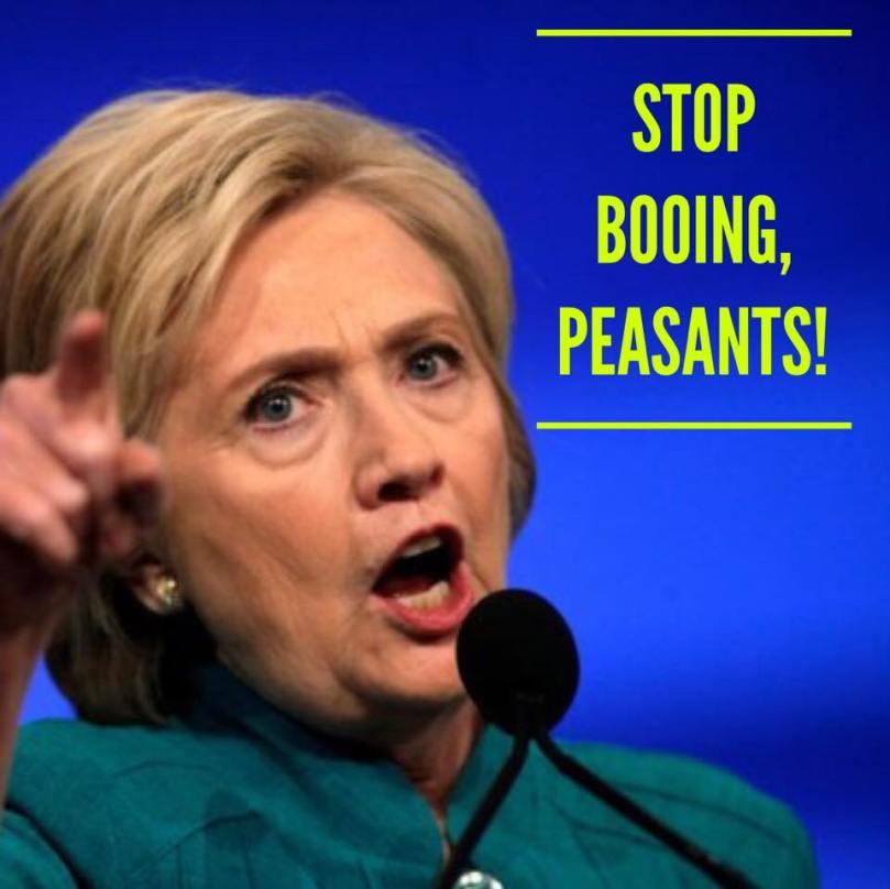 Hillary says