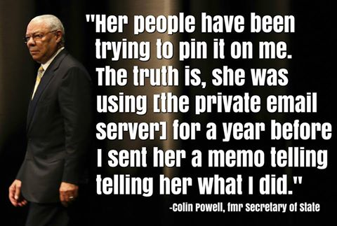 colin powell shady email