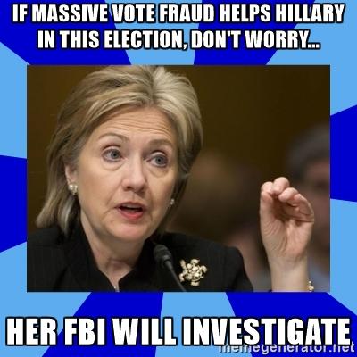 Hillary fraud