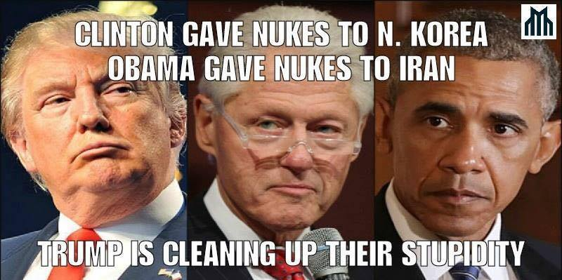 Trump is cleaning up